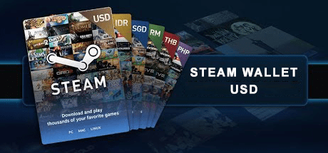 Steam Wallet Code USD