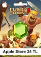 Apple Store Clash Of Clans 25 TL
