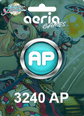 Grand Fantasia 3240 Aeria Points 3240 AP Satın Al