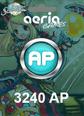 Grand Fantasia 3240 Aeria Points 3240 AP Satın Al
