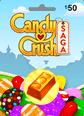 Candy Crush 50TL Oyun Kartı 50TL Facebook Oyun Kredisi Satın Al