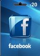 Facebook 20TL Hediye Oyun Kartı 20 TL Bakiye Satın Al