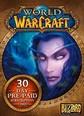 World Of WarCraft EU Prepaid Card 30 Days