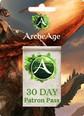 ArcheAge 30 Day Patron Pass 30 gün + 850 credit Satın Al