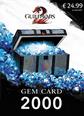 Guild Wars 2 Gem 2000 Card 2000 Gem Card Satın Al