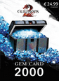 Guild Wars 2 Gem 2000 Card