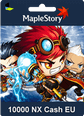 MapleStory 10000 Nexon Cash (Nx) Global (EU)