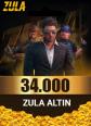 Zula 34.000 Altın