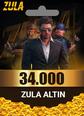 Zula 34.000 Altın 34.000 Altın Satın Al
