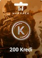 Warface Crytek 200 Kredi