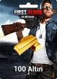 First Blood: Er Meydanı 100 Altın 100 Gold Satın Al