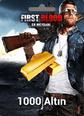 First Blood: Er Meydanı 1000 Altın 1000 Gold Satın Al
