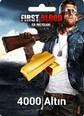 First Blood: Er Meydanı 4000 Altın 4000 Gold Satın Al