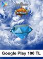 Google Play Heroes Titans 100 TL 100 TL Android Bakiye Satın Al