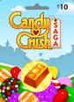 Candy Crush 10TL Oyun Kartı 10TL Facebook Oyun Kredisi Satın Al