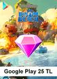 Google Play 25 TL Boom Beach Google Play 25 TL Satın Al