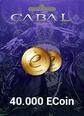 Cabal Online Eu 40.000 ECoin 40.000 ECoin Satın Al