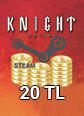 Steam Ko 20 TL Cüzdan 20 TL Bakiye Satın Al