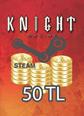 Steam Ko 50 TL Cüzdan 50 TL Bakiye Satın Al