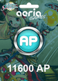 Grand Fantasia 11600 Aeria Points 11600 AP Satın Al