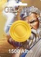 Grepolis 1500 Altın 1500 Altın Satın Al