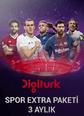 Spor Extra Paketi 3 Aylık Digiturk Play Smart TV, Web, Mobile ve Tablet üzerinden izlenebilir. Satın Al