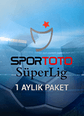 Süper Lig Paketi 1 Aylık Paket Digiturk Play Smart TV, Web, Mobile ve Tablet üzerinden izlenebilir. Satın Al