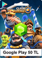 50TL Google Play Clash Royale 50TL Google Play Satın Al