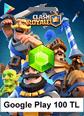 100TL Google Play Clash Royale 100TL Google Play Satın Al