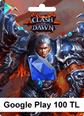 Google Play 100TL Clash of Dawn Google Play 100TL Satın Al