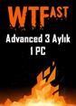 WTFast Advanced 3 Aylık 1 Pc 3 Aylık 1 Pc Abonelik Satın Al