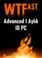 WTFast Advanced 1 Aylık 10 Pc