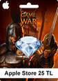 Apple Store 25TL Game Of War Apple Store 25TL Satın Al