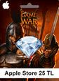 Apple Store 25TL Game Of War Apple Store 25TL Satın Al