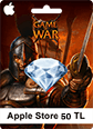 Apple Store 50TL Game Of War Apple Store 50TL Satın Al