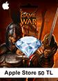 Apple Store 50TL Game Of War Apple Store 50TL Satın Al