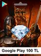 Google Play 100TL Game Of War Google Play 100TL Satın Al