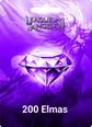 League Of Angels 200 Topaz 200 Topaz Satın Al