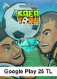 Google Play 25 TL Kafa Topu Google Play 25 TL Satın Al