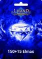 Legend Online Reborn 150 +15 Elmas 150 + 15 Elmas (Reborn versiyonudur, Legend Online de çalışmaz) Satın Al