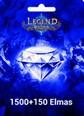Legend Online Reborn 1500 + 150 Elmas 1500 + 150 Elmas (Reborn versiyonudur, Legend Online de çalışmaz) Satın Al