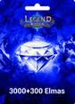Legend Online Reborn 3000 + 300 Elmas 3000 + 300 Elmas (Reborn versiyonudur, Legend Online de çalışmaz) Satın Al