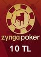 Zygna Texsas Holdem Poker 10TL Facebook 10TL Hediye Kartı Satın Al