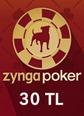 Zygna Texsas Holdem Poker 30TL Facebook 30TL Hediye Kartı Satın Al