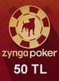 Zygna Texsas Holdem Poker 50TL Facebook 50TL Hediye Kartı Satın Al