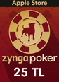 Zygna Poker Mobil Apple Store 25TL