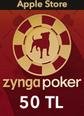 Apple Store 50TL Zygna Poker Mobil Apple Store 50TL Satın Al