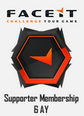 Faceit 6 Ay Supporter Üyelik Sadece CS GO - PUBG - DOTA 2 Oyunlarında Kullanılır. Satın Al