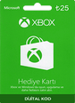 XBox Live Hediye Kartı 25 TL Microsoft Store ve Xbox 25 TL Gift Card Satın Al