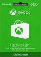 XBox Live Hediye Kartı 50 TL Microsoft Store ve Xbox 50 TL Gift Card Satın Al